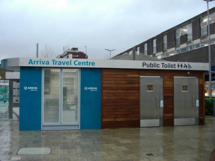 New public toilets Hemel Hempstead