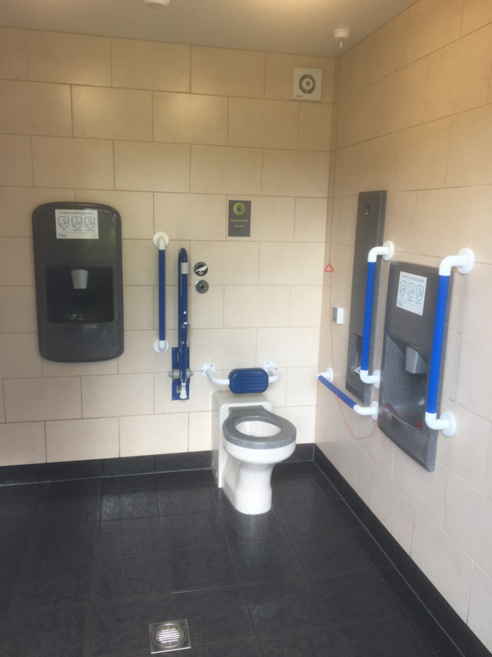 New public toilet in County Antrim