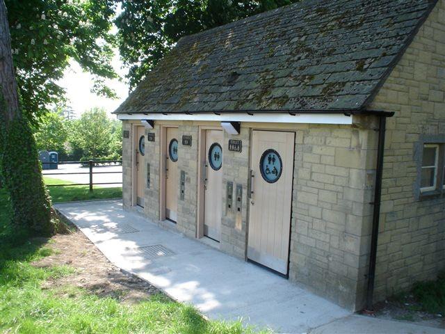 Refurbished public toilet